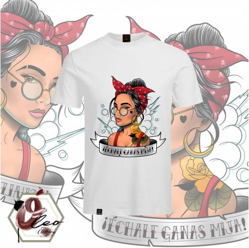 Camiseta Échale Gánas Crop Top